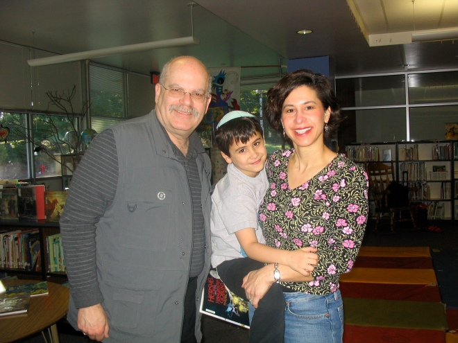 Author Eric Kimmel, Solomon and I